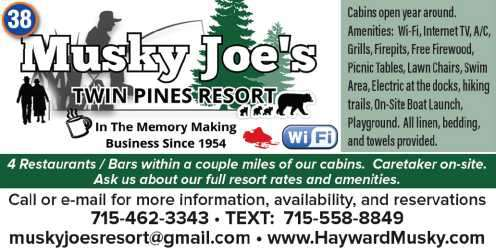 Musky Joes Twin Pines Resort