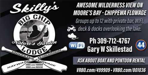 Skillys Big Chip Lodge