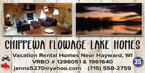 Chippewa Flowage Lake House 1