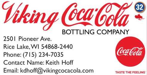 Viking Coca-Cola