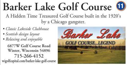 Barker Lake Golf Course Legend